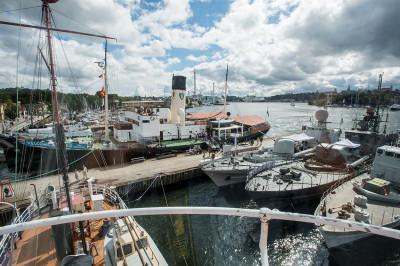 Sjöhistoriska visar fartyg och fritidsbåtar i sommar.