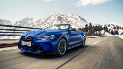 Nu startar produktionen av BMW M4 Competition Convertable.