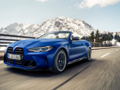 Nu startar produktionen av BMW M4 Competition Convertable