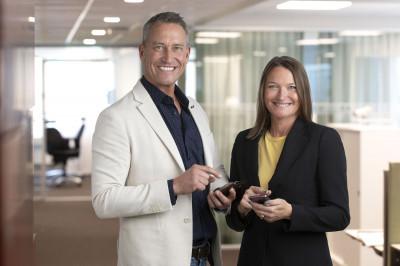 SOL Facility Services Vd Tina Wessman Hellstadius undertecknar förvärvet av DSFM från David Ståhl med en digital signatur.