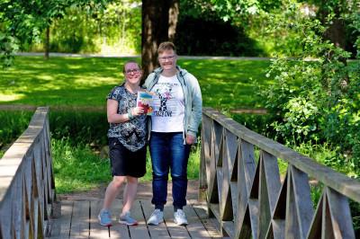 Illustratören Emma Svalander och författaren Malin Lindén.