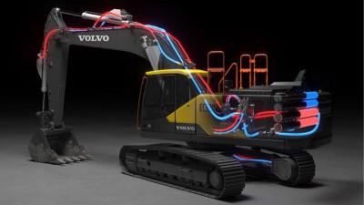 Banbrytande elektro-hydraulisk lösning vinner Volvos teknikpris.