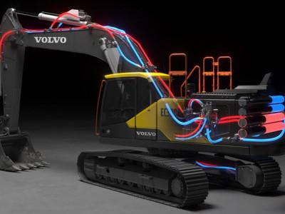 Banbrytande elektro-hydraulisk lösning vinner Volvos teknikpris