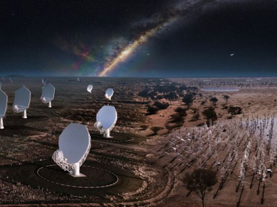 Bygget av världens största radioteleskop skapar möjligheter för svensk industri