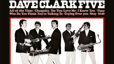 The Dave Clark Five släpper remastrade debutalbumet Glad All Over på White Vinyl