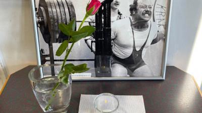 Kraftsportsfond startas till Hans Ruberts minne