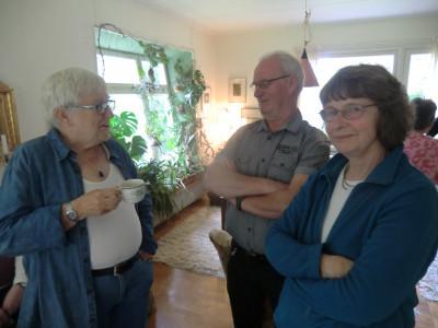 Christina Löfgren, Anders Larsson och Bibbi Watkins