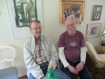 Kenneth Olsson och Lennart Jansson