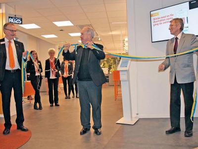 Invigning av Swedbanks nya lokaler i Gävle