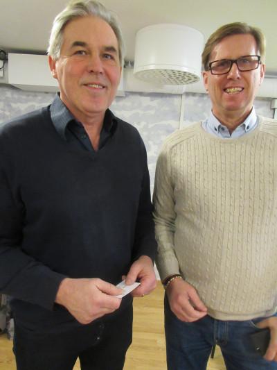 Bengt-Göran Wikström och Göran Cronwall var beredda att dela med sig av nätverk och erfarenheter