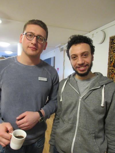 Ahmad Noor Akil, Arbetsförmedlingen, och Osama El Refaey