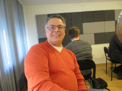 Nuri Camuz var med dels som mentor men också som nyanställd på Gävle kommuns Näringslivskontor, där han ska jobba med bl a integration