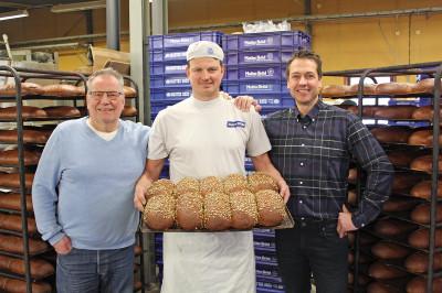 Matte och Daniel Rosén samt Joakim Olsson ser fram emot ett gott och nyttigt samarbete